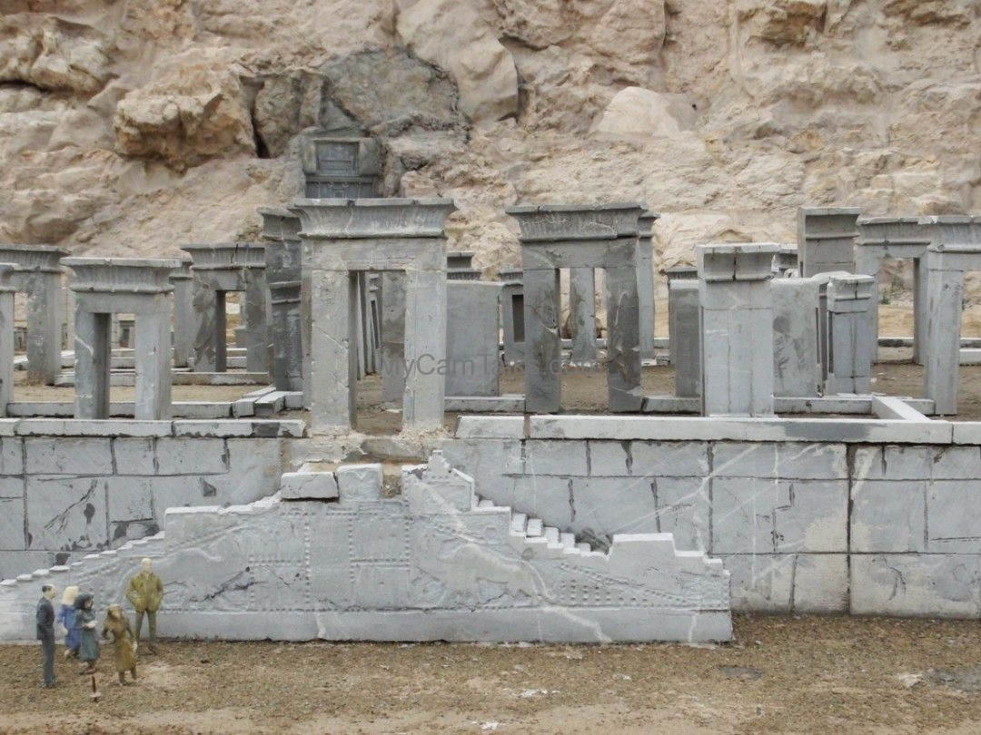 The maquette of Persepolis
