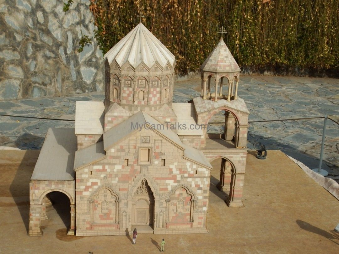 A model of an Armenian church