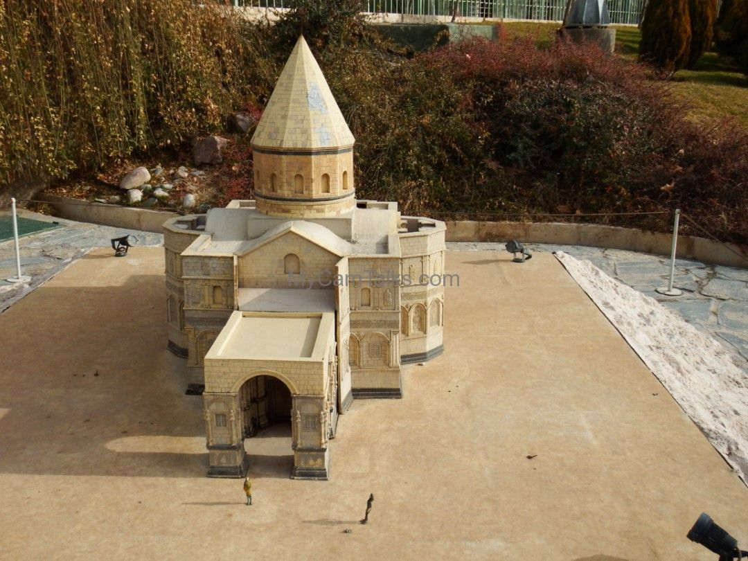 An Armenian church's maquette